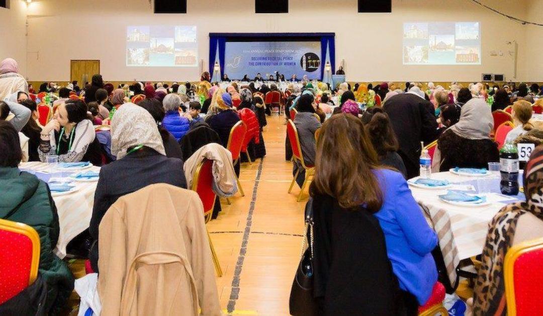 Ahmadi Muslim Women initiate the conversation on the Role of Women in establishing Societal Peace