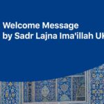 Welcome Message by Sadr Lajna UK Feature Image