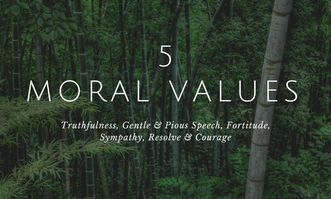 Five Moral Values