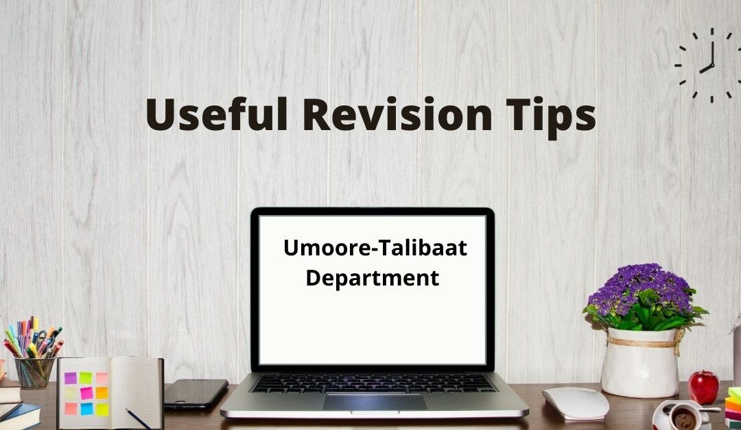 Useful Revision Tips For Students
